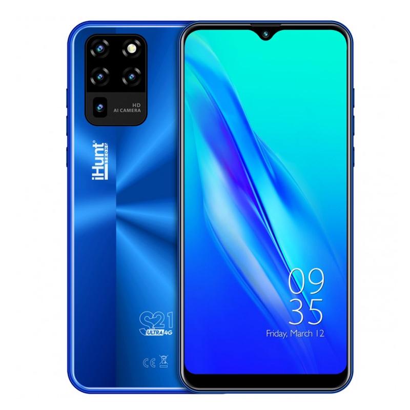 Telefon mobil Smart iHunt S21 Ultra ApeX, Android 10, 4 GB, ecran IPS 6.3 inch, 16 GB, 2 GB RAM, 13 MP, 4000 mAh, Dual Sim, Blue 2021 shopu.ro