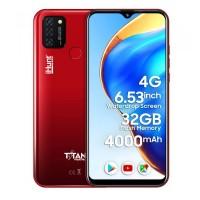 Telefon mobil Smart iHunt Titan P4000 Pro, Android 10, 4G+, ecran IPS 6.53 inch, 32 GB, 2 GB RAM, 13 MP, 4000 mAh, Dual Sim, Red