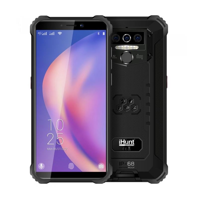 Telefon mobil Smart iHunt Titan P8000 Pro, Android 10, 4G LTE, ecran IPS 5.5 inch, Full Angle, 32 GB, 4 GB RAM, 13 MP, 8000 mAh, Dual Sim, Black 2021 shopu.ro