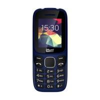 Telefon mobil iHunt i4 2G 2021, ecran TFT 1.8 inch, 800 mAh, Radio FM, Bluetooth, lanterna, Dual Sim, Albastru
