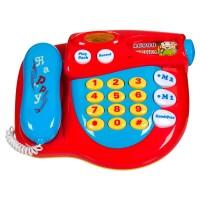Telefon pentru copii cu sunet si muzica, 3 x AA, functii multiple