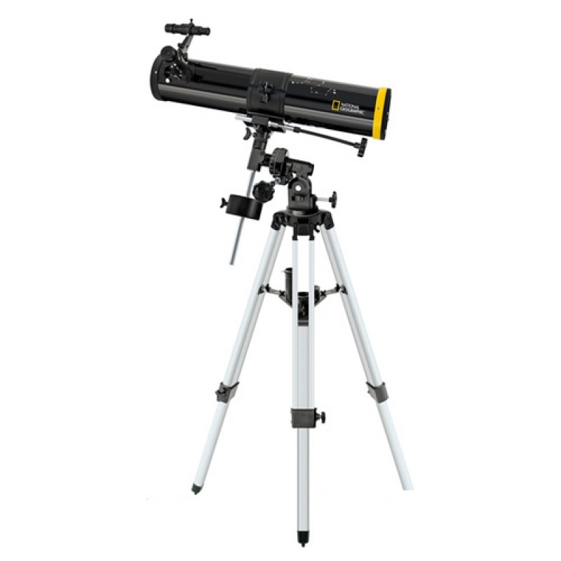 Telescop reflactor National Geographic, diametru obiectiv 76 mm, marire 152x 2021 shopu.ro