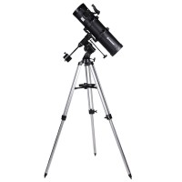 Telescop reflector Bresser Spica 130/650 EQ2, tripod inclus