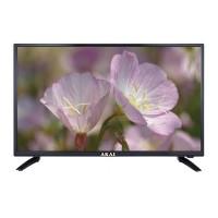 Televizor LED Akai, 70 W, diagonala 98 cm, 1366 x 769 px, HD Ready, tuner digital, telecomanda, Negru