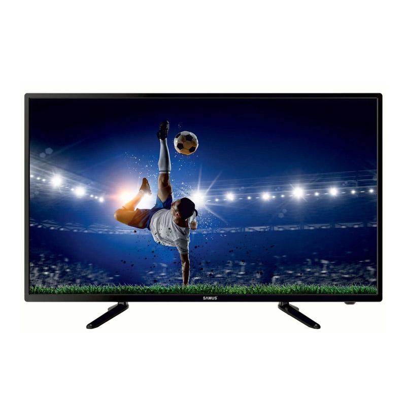 Televizor LED full HD Samus, diagonala 108 cm, rezolutie 1920 x 1080 cm, Negru