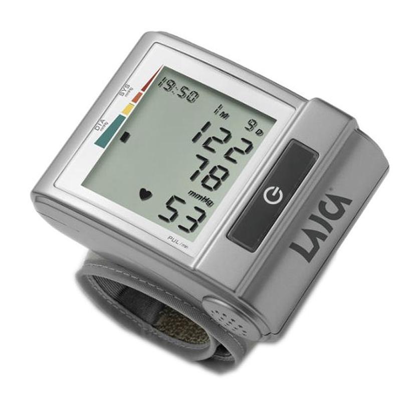 Tensiometru automat de incheietura Laica BM1001, 60 memorii