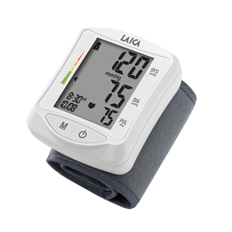 Tensiometru automat de incheietura Laica, ecran LCD, 120 masuratori 2021 shopu.ro