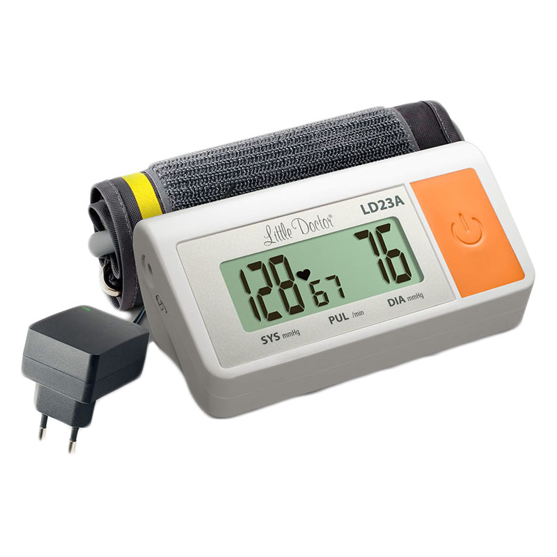 Tensiometru de brat Little Doctor LD 23A, umflare automata, afisaj LCD