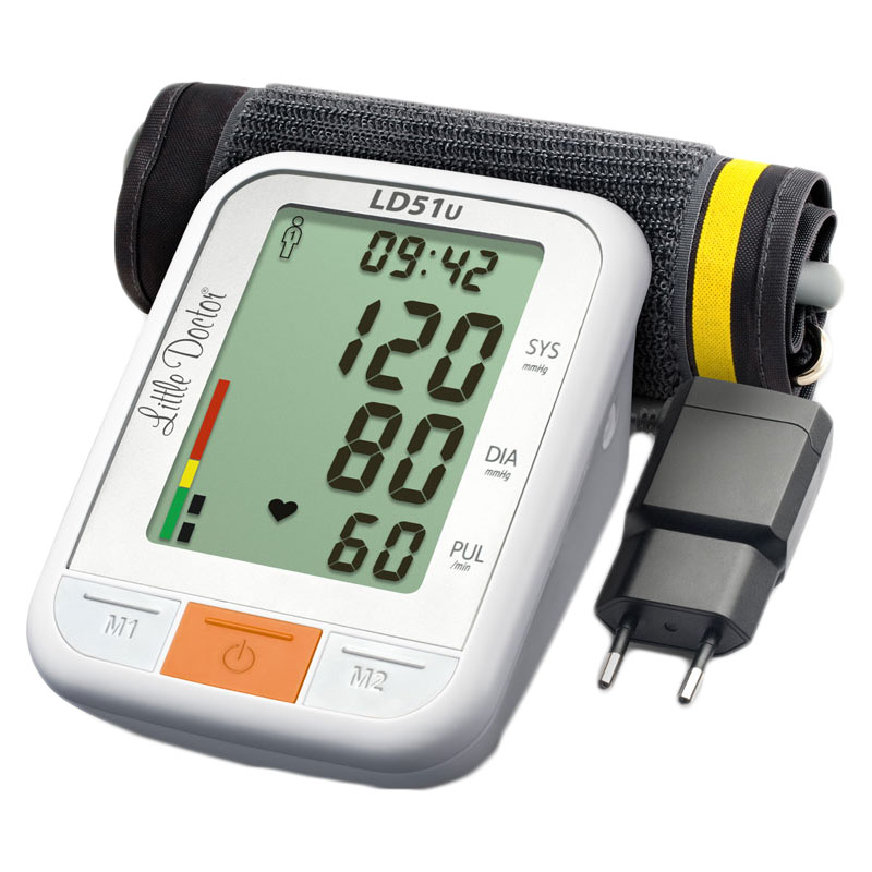 Tensiometru de brat Little Doctor LD 51U, detectare aritmie 2021 shopu.ro