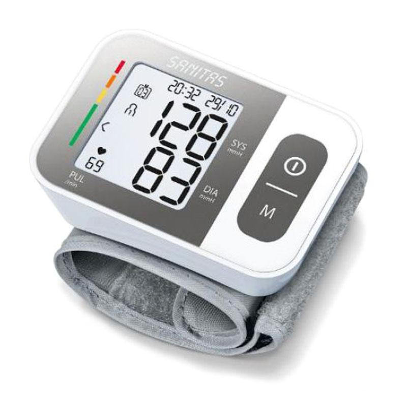 Tensiometru digital de incheietura Sanitas SBC15, sistem WHO 2021 shopu.ro