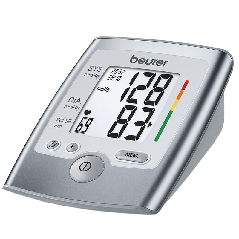 Tensiometru electronic de brat Beurer BM35, indica aritmia cardiaca
