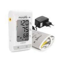 Tensiometru electronic de brat Microlife BP A150-30 AFIB, previne riscul de infarct, adaptor inclus