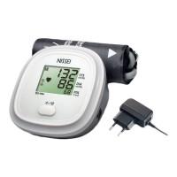 Tensiometru electronic de brat Nissei DS 10A, adaptor inclus, afisaj LCD