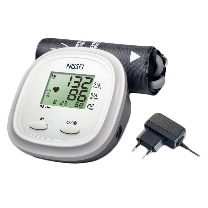 Tensiometru electronic de brat Nissei DS 11A, adaptorr inclus, memorare 60 de seturi 2021 shopu.ro