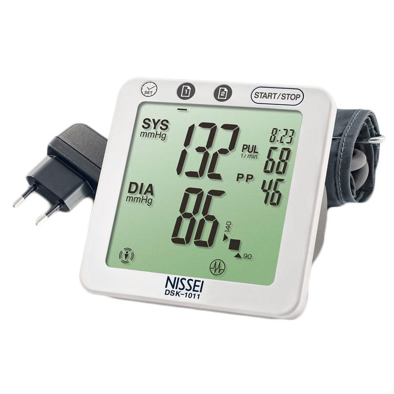 Tensiometru electronic de brat Nissei DSK-1011, memorare 60 de seturi, afisaj LCD 2021 shopu.ro