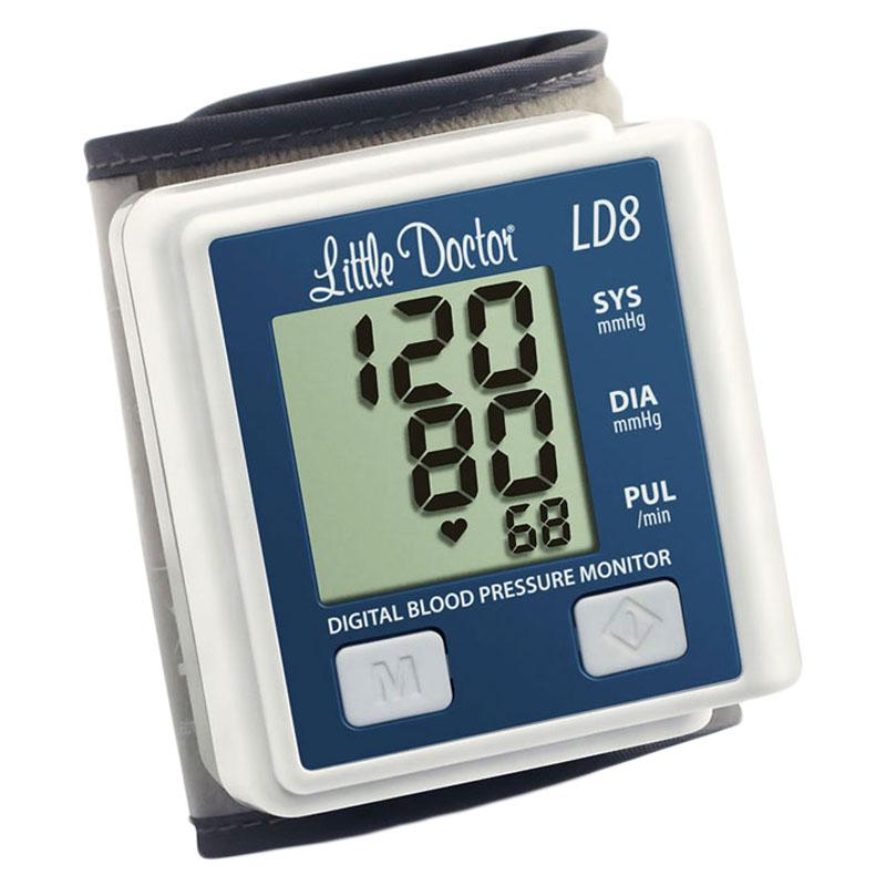 Tensiometru electronic de incheietura Little Doctor LD 8, afisaj LCD, memorare 90 valori 2021 shopu.ro