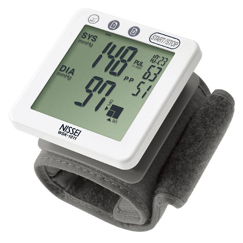 Tensiometru electronic de incheietura Nissei WSK 1011, memorare 60 de valori, detectarea aritmiei 2021 shopu.ro