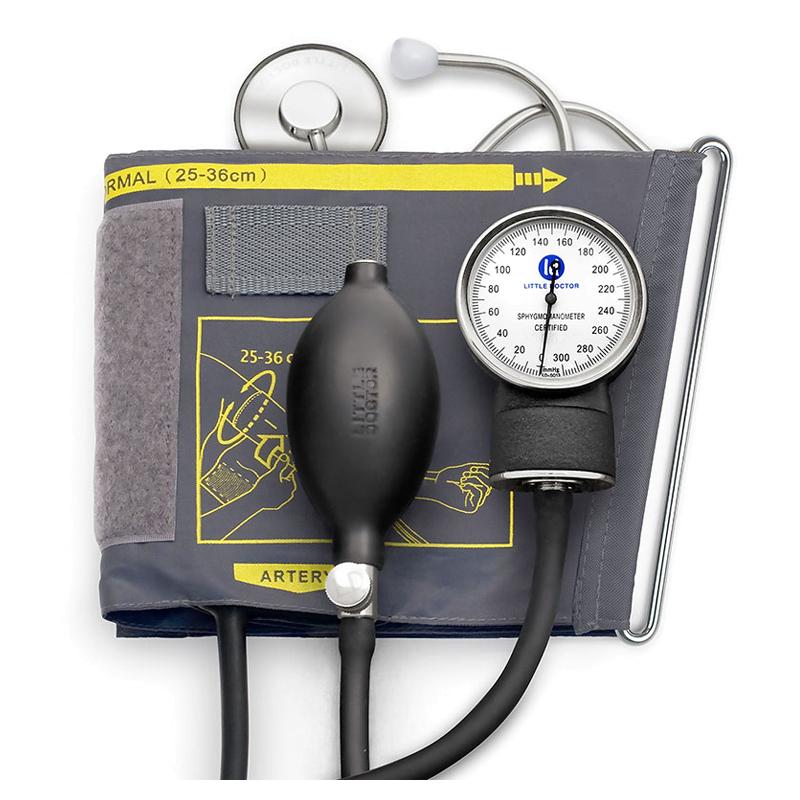 Tensiometru mecanic Little Doctor LD 71, stetoscop inclus 2021 shopu.ro
