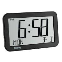 Termo-higrometru cu ceas si bluetooth TFA, 2 x AA, LCD
