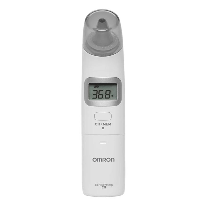 Termometru digital Omron Gentle Temp, 25 masuratori, LCD, semnal sonor 2021 shopu.ro