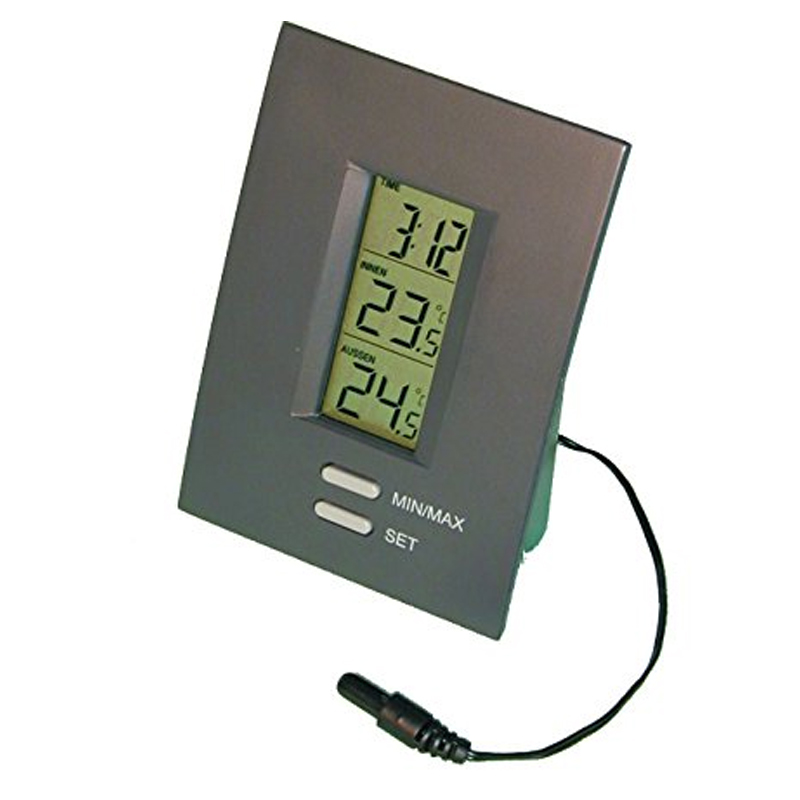 Termometru digital cu senzor Koch, 1 x AAA, utilizare universala 2021 shopu.ro