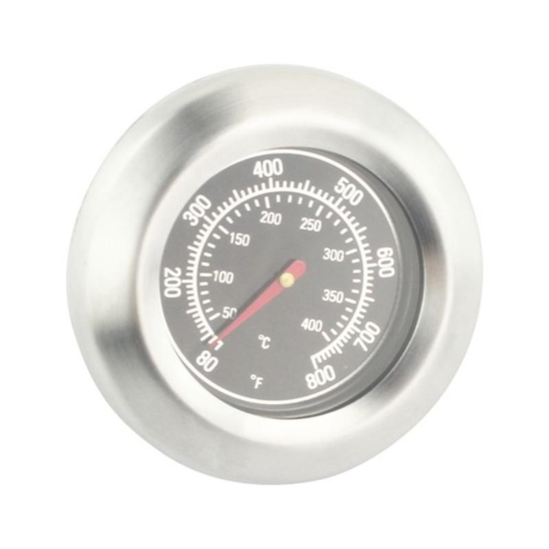 Termometru universal pentru gratar, 7.5 x 7.5 x 5 cm, otel inoxidabil, Argintiu 2021 shopu.ro