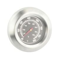 Termometru universal pentru gratar, 7.5 x 7.5 x 5 cm, otel inoxidabil, Argintiu