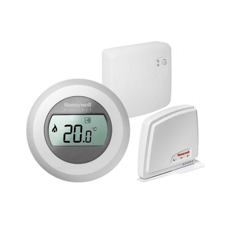 Termostat wireless Smart Honeywell Y87RFC, Gateway, LCD 2021 shopu.ro