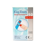 Teste colesterol Easy Touch, 10 bucati