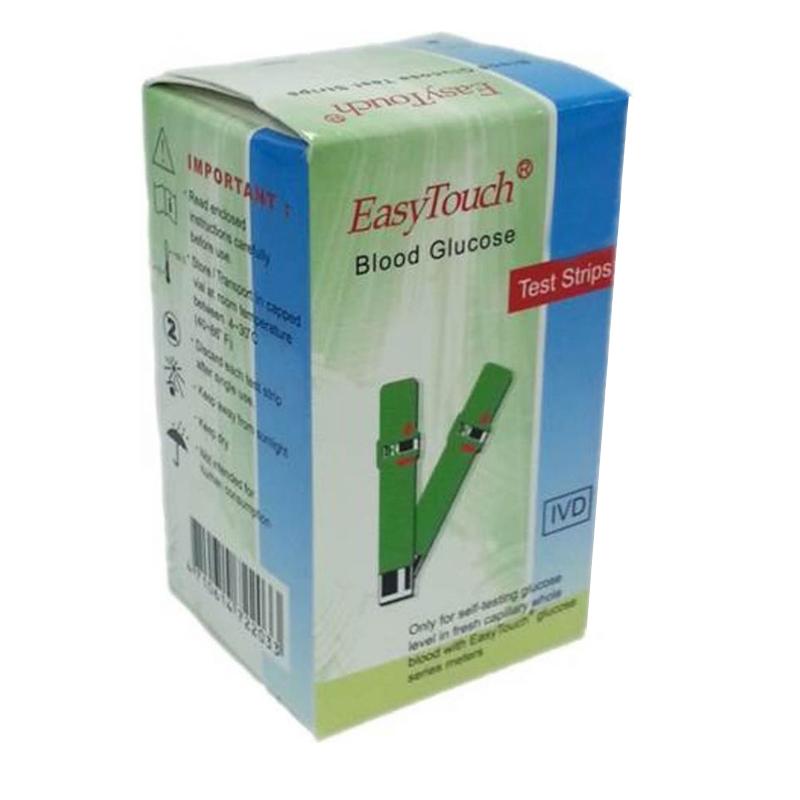 Teste glicemie Easytouch, 50 bucati 2021 shopu.ro