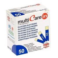 Teste glucoza pentru aparatul Multicare-IN, 2 x 25 teste/cutie