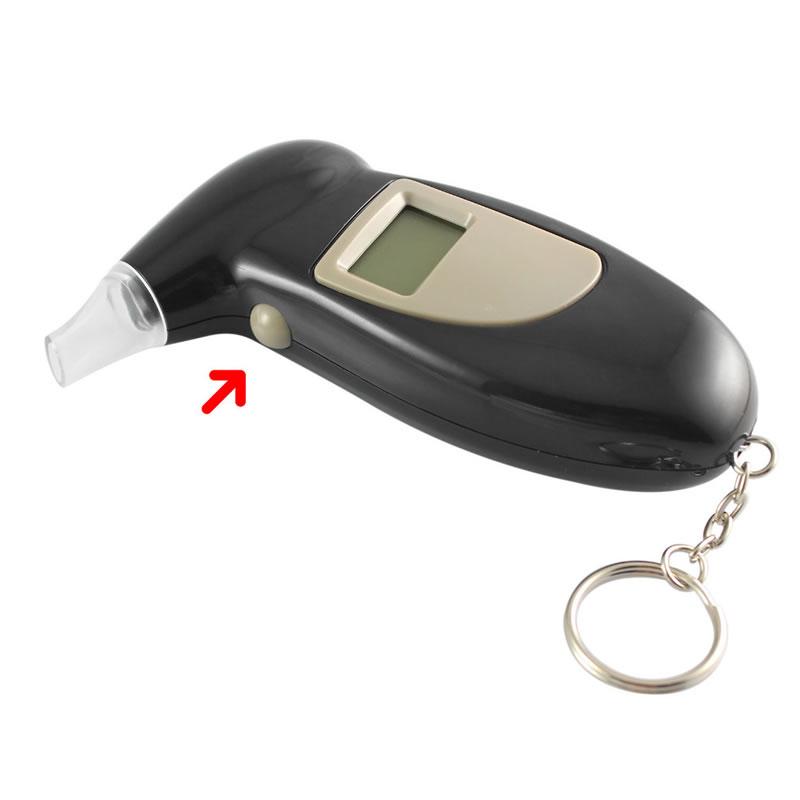 Tester de alcoolemie, afisaj digital si sonor