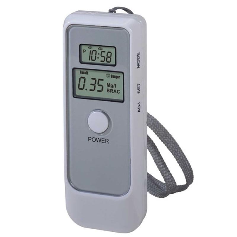 Tester de alcoolemie digital, functie ceas