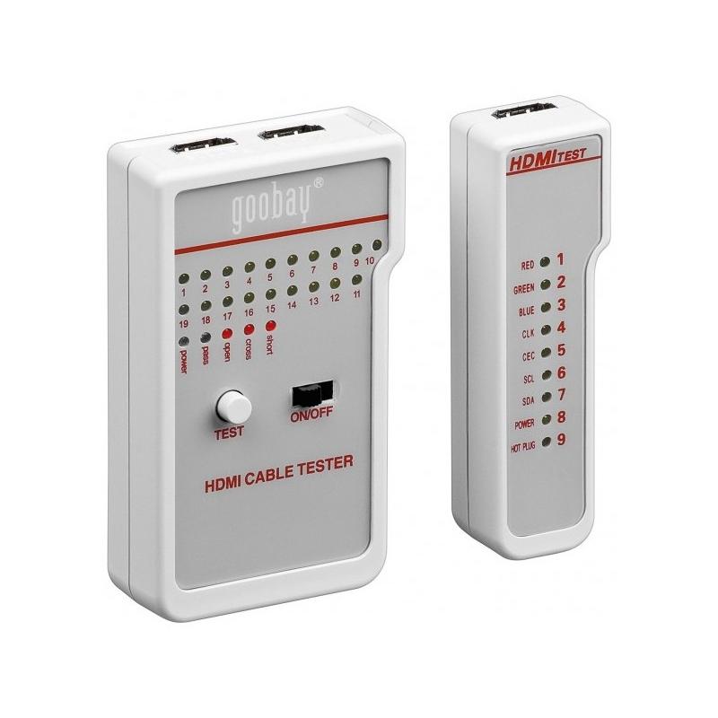 Tester pentru cabluri HDMI Goobay, 9 V 2021 shopu.ro