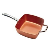 Tigaie patrata Cooper Chef Pan, 25 x 25 cm, 5 piese