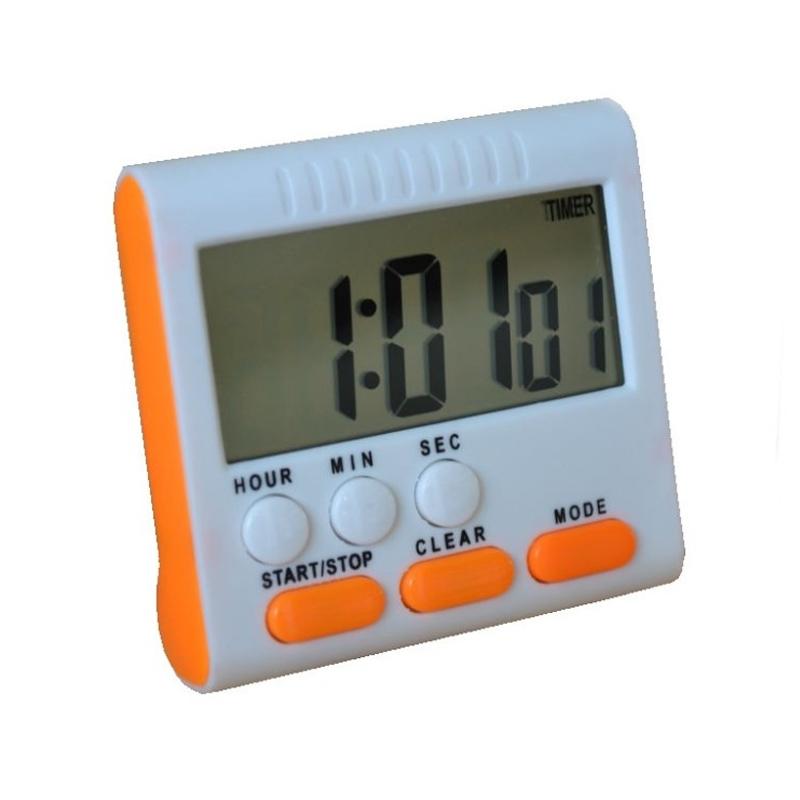Timer digital pentru bucatarie HX102, suport magnetic 2021 shopu.ro