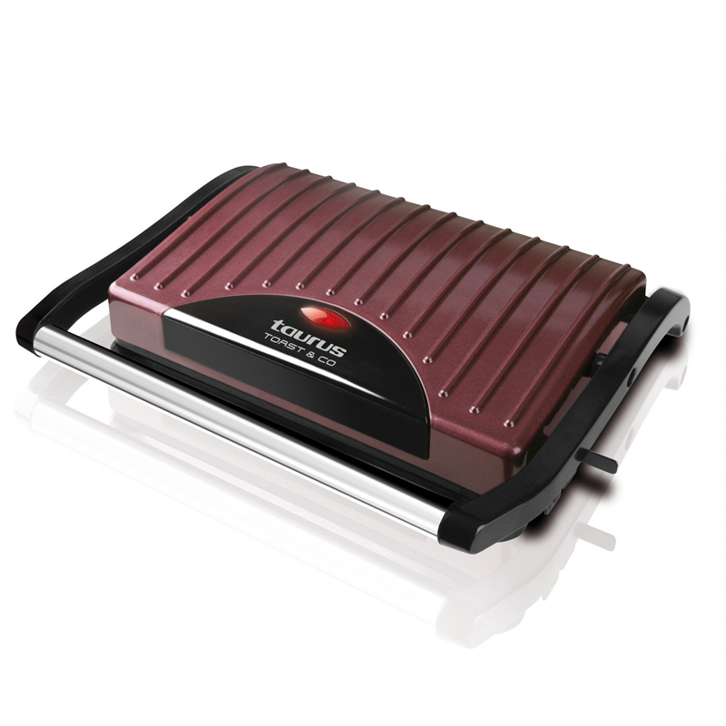 Sandwich Maker Toast & Co Taurus, 700 W, 23 x 15 cm, LED, placi grill 2021 shopu.ro