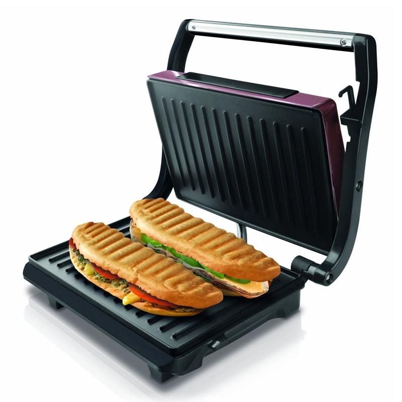 Sandwich Maker Toast & Co Taurus, 700 W, 23 x 15 cm, LED, placi grill