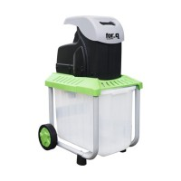 Tocator electric pentru resturi vegetale, 2500 W, 40 mm, 53 l, Alb/Verde