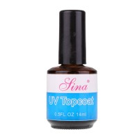 Top coat UV pentru unghii Sina, 14 ml