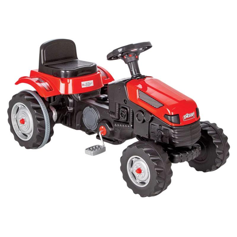Tractor cu pedale pentru copii, 91 x 35 x 52 cm, maxim 50 kg 2021 shopu.ro