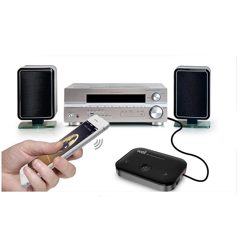 Transmitator si receptor Bluetooth Comfy Well, 2 porturi