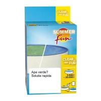 Tratament pentru piscine inverzite Clear and Fun, 3000 - 5000 litri, 175 grame