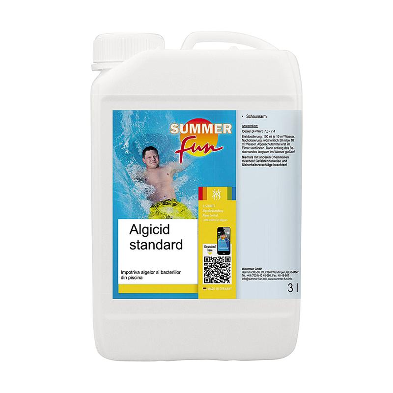Tratament piscina Algicid standard Summer Fun, 3 l, PH-neutru 2021 shopu.ro