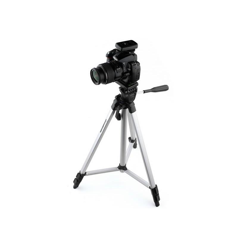 Trepied foto/video W-362A, 3 segmente, inaltime maxima 127 cm