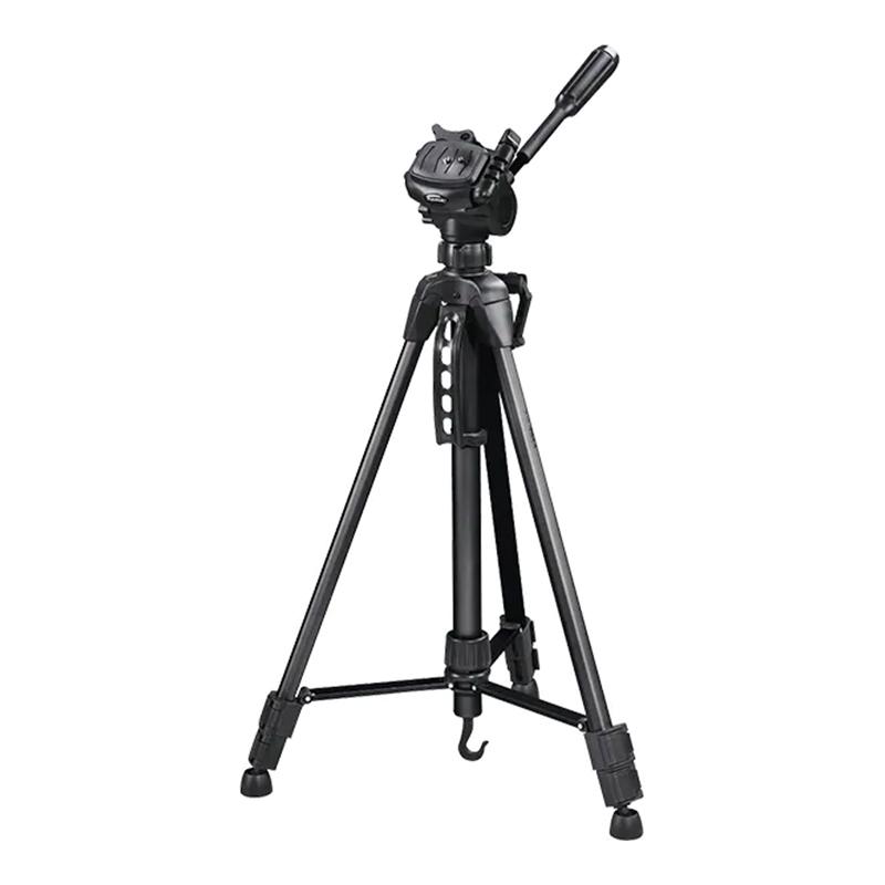 Trepied StarBlack 153-3D Hama, 153 cm, aluminiu/plastic, Negru 2021 shopu.ro