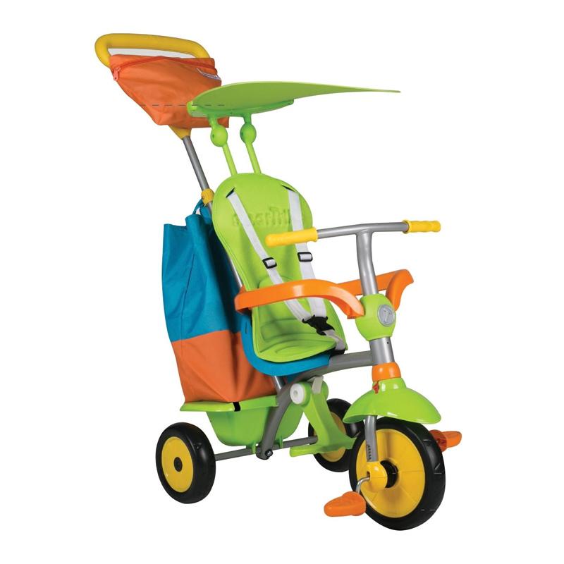 Tricicleta 4 in 1 SmarTrike, tetiera pliabila, maner detasabil, maxim 17 kg, 10 luni+ 2021 shopu.ro