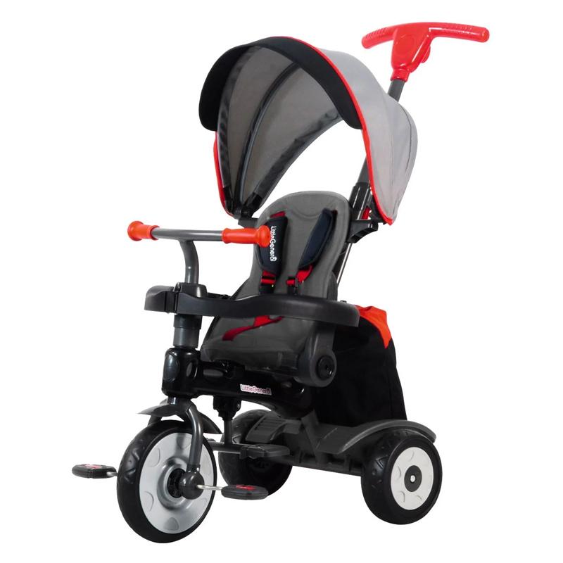 Tricicleta Little General 4 in 1, maner detasabil, centura siguranta, maxim 25 kg, 10 luni+ 2021 shopu.ro