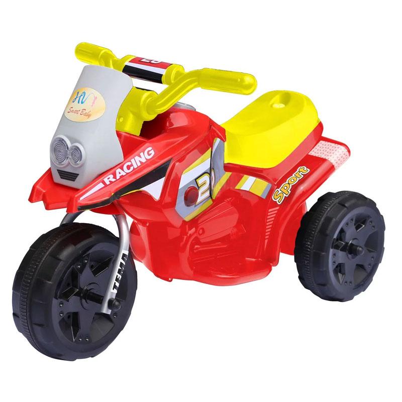 Tricicleta electrica cu sunete si lumini, 2.5 Km/h, 66 x 34 x 44 cm, 3 ani+ 2021 shopu.ro