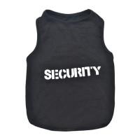 Tricou pentru catei, marimea XL, imprimeu Security